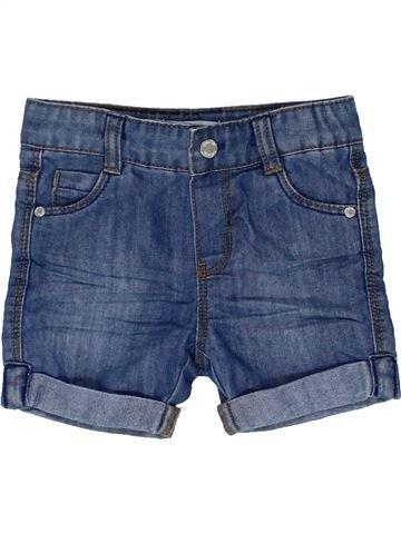 Short-Bermudas niño OKAIDI azul 6 meses verano #1449114_1