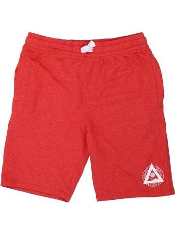 Short - Bermuda garçon F&F rouge 13 ans été #1449188_1
