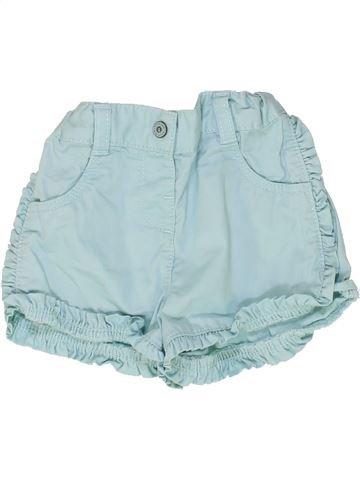 Short-Bermudas niña KIABI azul 18 meses verano #1449261_1