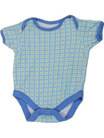 T-shirt manches courtes fille F&F bleu 6 mois été #1449377_1