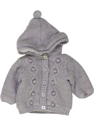 Chaqueta niña KIABI gris 3 meses invierno #1449471_1