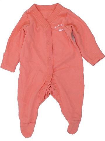 Pijama de 1 pieza niña NUTMEG naranja 0 meses verano #1449502_1