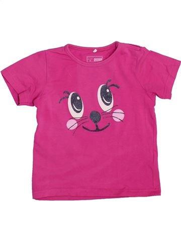 Camiseta de manga corta niña NAME IT violeta 3 años verano #1449882_1