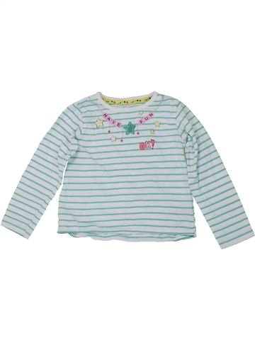 T-shirt manches longues fille DUNNES STORES gris 3 ans hiver #1450045_1