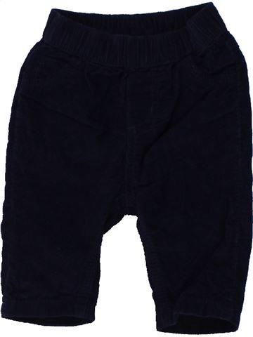 Pantalón niño BLUEZOO negro 3 meses invierno #1450101_1