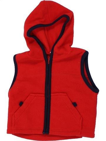 Gilet garçon ADAMS rouge 6 mois hiver #1450108_1