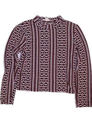 Camiseta de manga larga niña RIVER ISLAND blanco 6 años invierno #1450139_1
