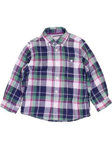 Chemise manches longues garçon MAYORAL gris 4 ans hiver #1450694_1