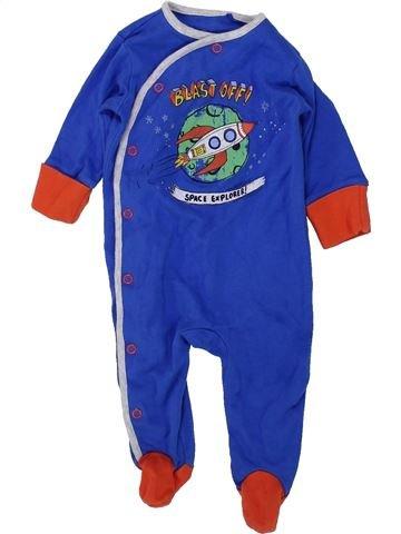 Pyjama 1 pièce garçon NEXT bleu 3 mois été #1450855_1