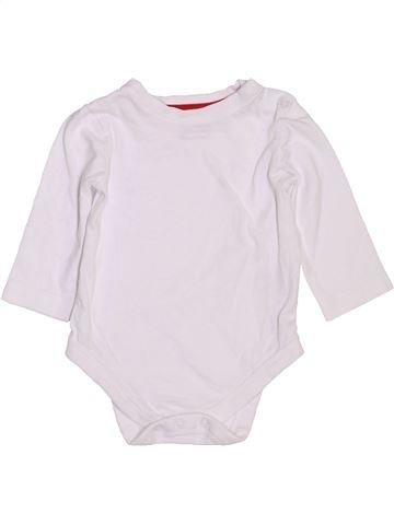 Camiseta de manga larga unisex BLUEZOO blanco 3 meses invierno #1450898_1