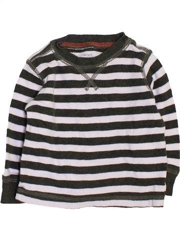 Camiseta de manga larga niño CARTER'S blanco 6 meses invierno #1451036_1