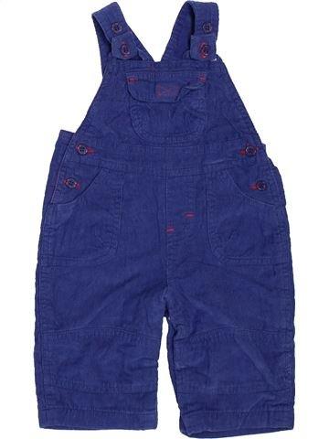 Salopette garçon TINY TED bleu 3 mois hiver #1451390_1