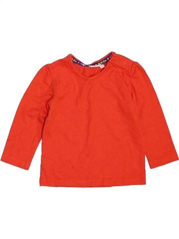 Camiseta de manga larga niño BLUEZOO naranja 9 meses invierno #1451403_1