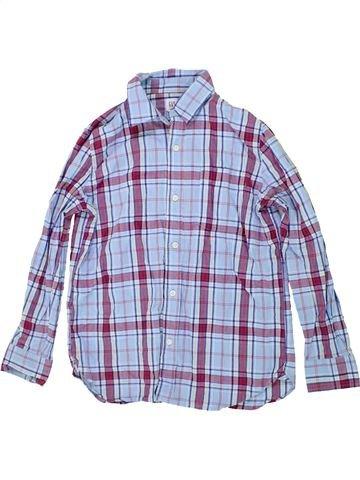 Chemise manches longues garçon GAP bleu 12 ans hiver #1451528_1