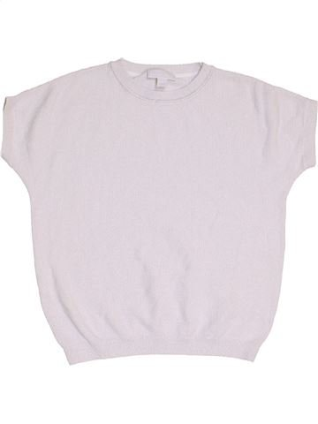 Pull fille THE LITTLE WHITE COMPANY blanc 7 ans hiver #1451783_1