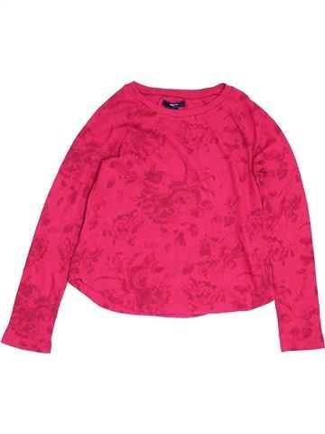 T-shirt manches longues fille GAP rose 9 ans hiver #1451802_1