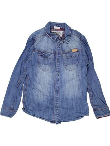 Chemise manches longues garçon ZARA bleu 10 ans hiver #1452269_1