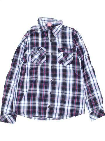 Chemise manches longues garçon YFK blanc 12 ans hiver #1452372_1