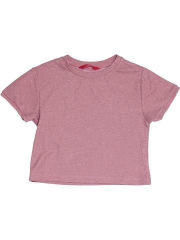 T-shirt manches courtes fille PRIMARK rose 11 ans hiver #1452609_1