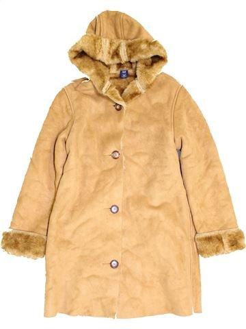 Manteau fille GAP beige 12 ans hiver #1452783_1