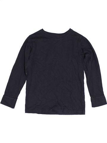 T-shirt manches longues garçon DUNNES STORES noir 5 ans hiver #1452971_1