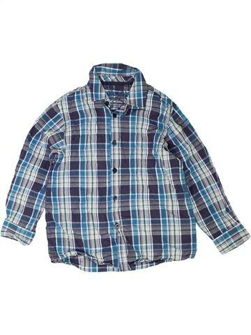 Chemise manches longues garçon MATALAN bleu 7 ans hiver #1453138_1
