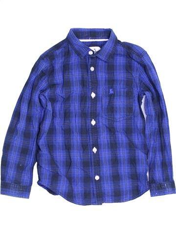 Chemise manches longues garçon PRIMARK bleu 7 ans hiver #1453379_1
