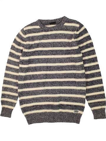 Pull garçon NEXT gris 11 ans hiver #1453489_1