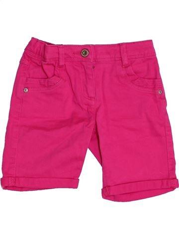 Short-Bermudas niña VERTBAUDET rosa 4 años verano #1453572_1