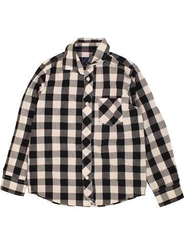 Chemise manches longues garçon BLUEZOO gris 9 ans hiver #1453657_1