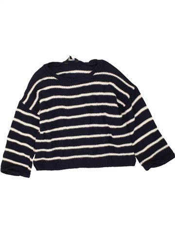 Pull fille NEW LOOK blanc 13 ans hiver #1453662_1