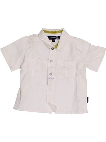 Camisa de manga corta niño JEAN BOURGET blanco 6 meses verano #1453673_1