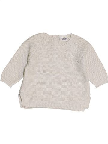 jersey niña TAPE À L'OEIL blanco 3 meses invierno #1453679_1