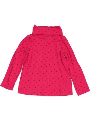 Camiseta de cuello alto niña H&M rojo 2 años invierno #1453878_1