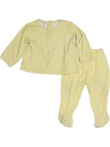 Pijama de 2 piezas niña VERTBAUDET verde 9 meses invierno #1453906_1