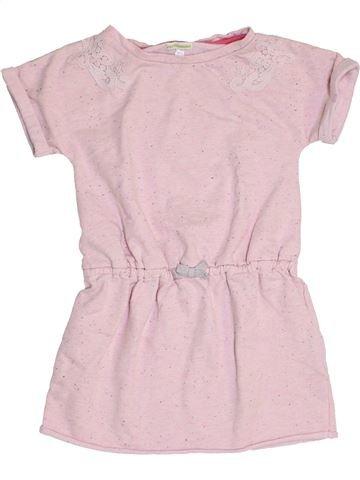 Vestido niña VERTBAUDET rosa 8 años invierno #1454147_1