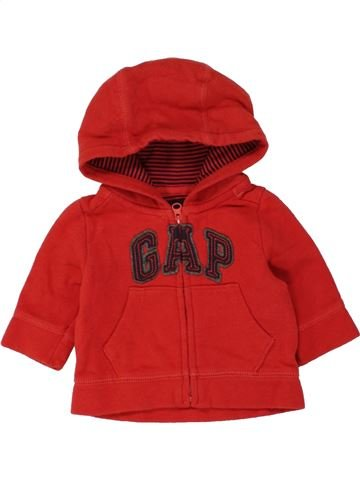 Sweat garçon GAP rouge 3 mois hiver #1454237_1