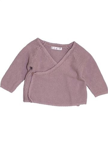 Chaleco niña BOUT'CHOU violeta 9 meses invierno #1454416_1