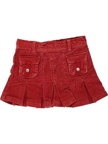 Jupe fille C&A rouge 3 ans hiver #1454481_1