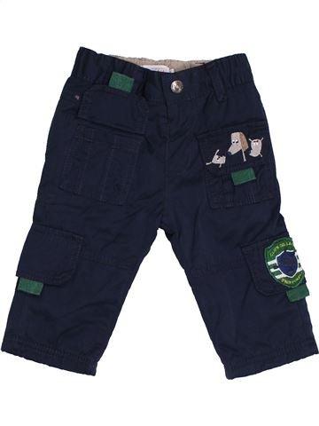 Pantalón niño LA COMPAGNIE DES PETITS azul oscuro 6 meses invierno #1454526_1