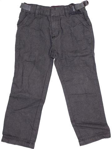 Pantalón niño PETIT BATEAU gris 4 años invierno #1455093_1