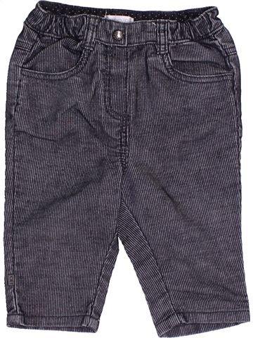 Pantalon garçon OKAIDI gris 6 mois hiver #1455113_1