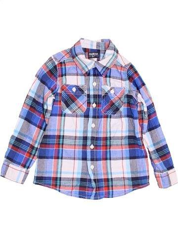 Chemise manches longues garçon OSH KOCH B'GOSH gris 6 ans hiver #1455571_1