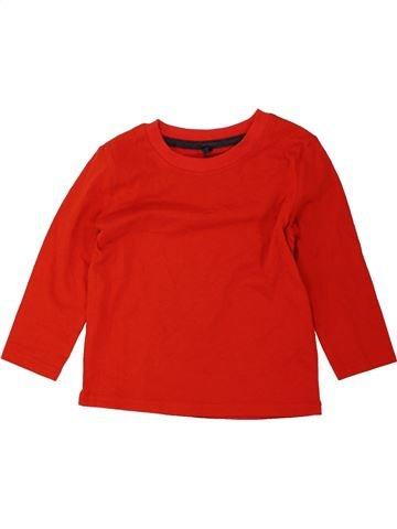 Camiseta de manga larga niño BLUEZOO rojo 18 meses invierno #1455748_1