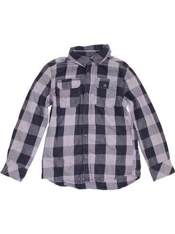 Chemise manches longues garçon KIABI gris 8 ans hiver #1456537_1