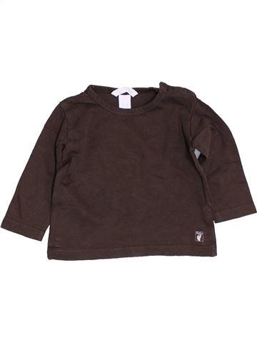 Camiseta de manga larga niño H&M marrón 9 meses invierno #1456563_1