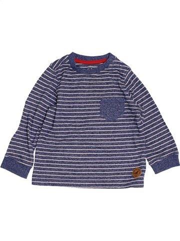 T-shirt manches longues garçon MOTHERCARE violet 12 mois hiver #1456908_1