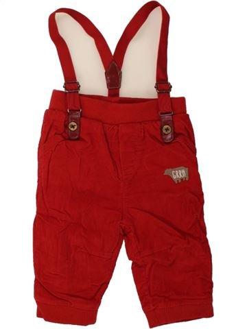 Pantalón niño ORCHESTRA rojo 3 meses invierno #1457223_1