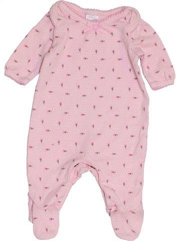 Pijama de 1 pieza niña MINI CLUB rosa prematuro verano #1457246_1