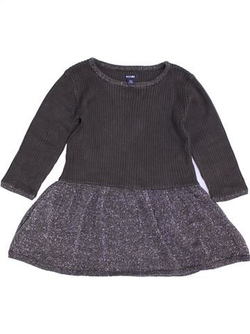 Vestido niña KIABI gris 18 meses invierno #1457338_1